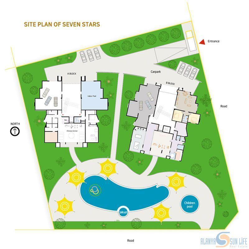 Seven Star Residence Kestel Alanya Alanya Sunlife Real