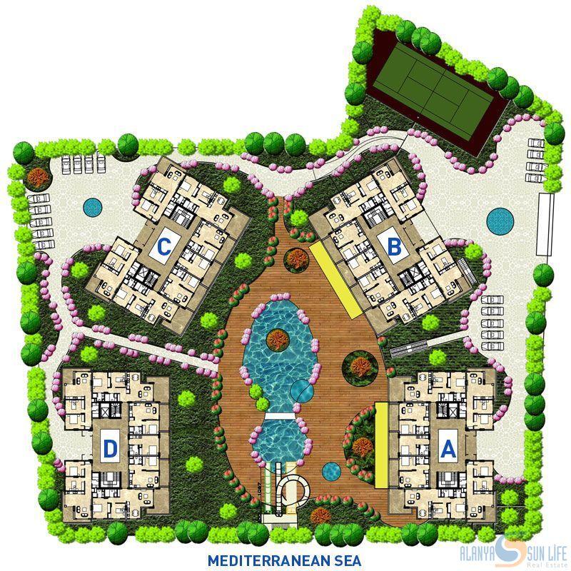 Emerald Park Apartments: Emerald Park Apartments In Alanya